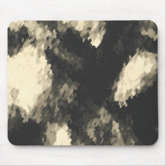 Dark Jungle Camouflage Mouse Pads