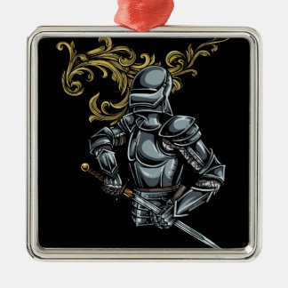 Dark Knight Armour Christmas Ornament