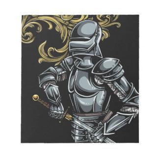 Dark Knight Armour Notepad