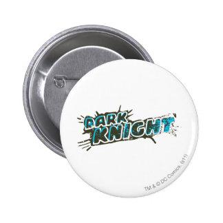 Dark Knight Logo 6 Cm Round Badge