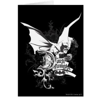 Dark Knight Logo Detailed Greeting Card