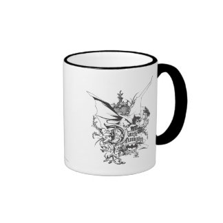 Dark Knight Logo Detailed Mugs
