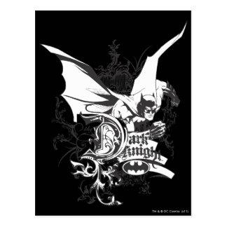 Dark Knight Logo Detailed Postcard