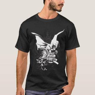 Dark Knight Logo Detailed T-Shirt