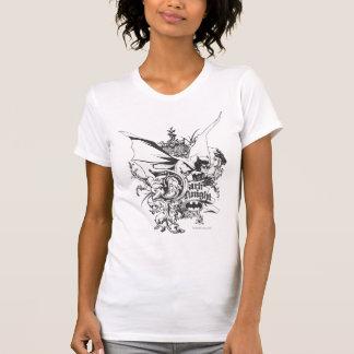 Dark Knight Logo Detailed T Shirts