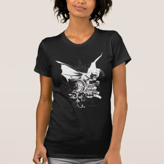Dark Knight Logo Detailed T-shirts