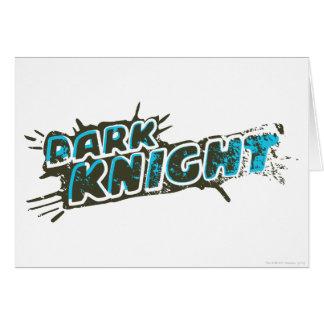 Dark Knight Logo Greeting Card