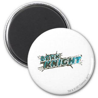 Dark Knight Logo 6 Cm Round Magnet
