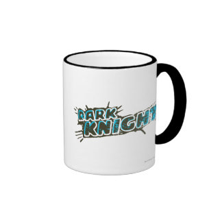 Dark Knight Logo Ringer Coffee Mug