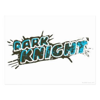 Dark Knight Logo Post Cards