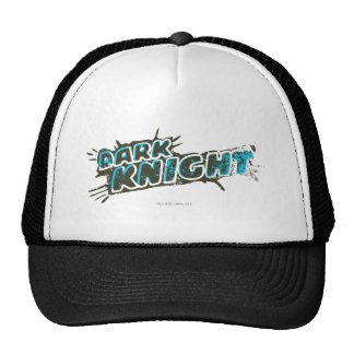 Dark Knight Logo Trucker Hats