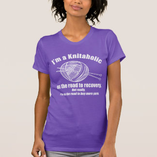 Dark Knitaholic T-shirt