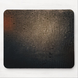 Dark leather like mouse pad