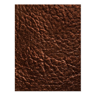 Dark Leather Texture Postcards