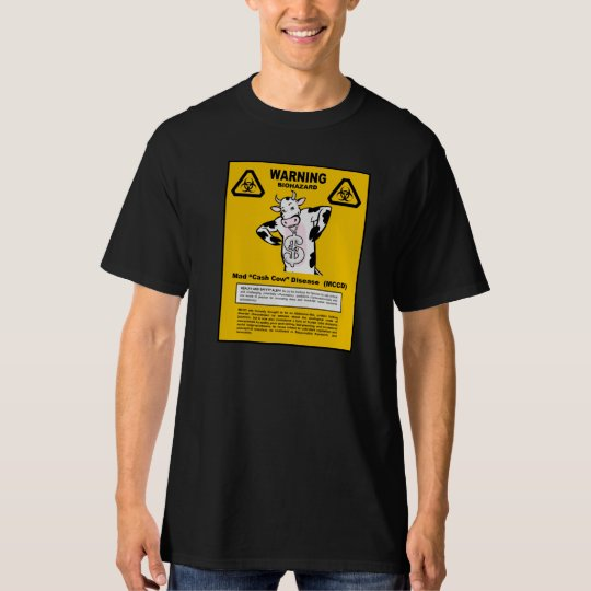 Dark - Mad Cash Cow T-Shirt