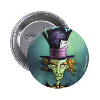 Dark Mad Hatter from Alice in Wonderland 6 Cm Round Badge
