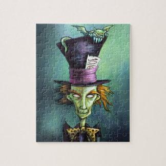 Dark Mad Hatter from Alice in Wonderland Jigsaw Puzzle