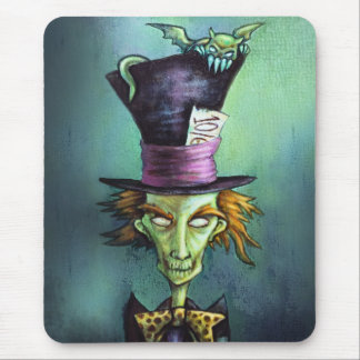 Dark Mad Hatter from Alice in Wonderland Mouse Pad