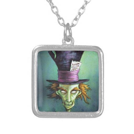 Dark Mad Hatter from Alice in Wonderland Pendants