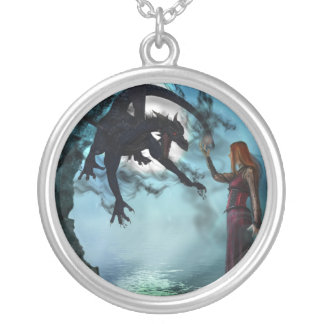 Dark Magic (Necklace/Pendant) Silver Plated Necklace