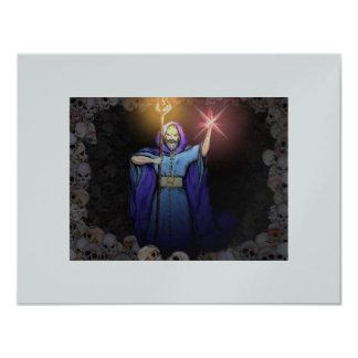 Dark Magician 11 Cm X 14 Cm Invitation Card