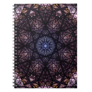 Dark Mandala Design Notebooks