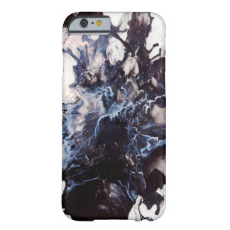 Dark marble barely there iPhone 6 case