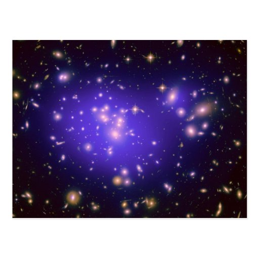 Dark Matter in Galaxy Cluster Abell 1689 (Hubble T Postcards
