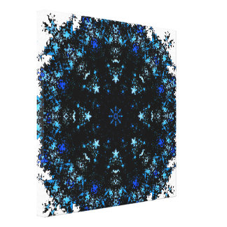Dark Matter Mandala Canvas Print