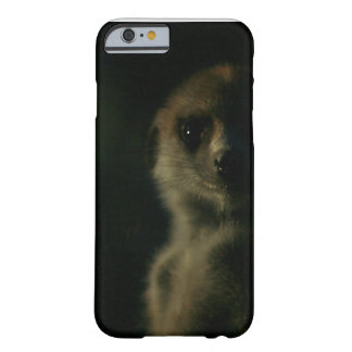 Dark meerkat - iPhone 6 case Barely There iPhone 6 Case