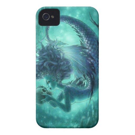 Dark Mermaid BlackBerry Bold Case - Secret Kisses