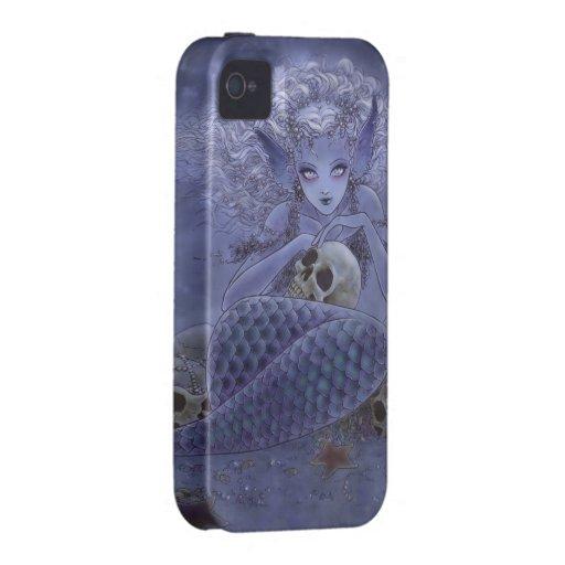 Dark Mermaid iPhone 4 Case