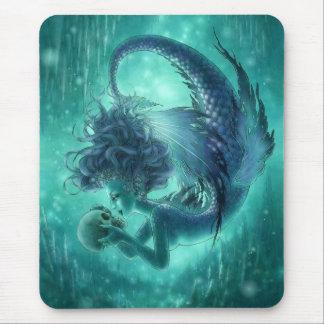 Dark Mermaid Mouspad - Secret Kisses Mouse Mat