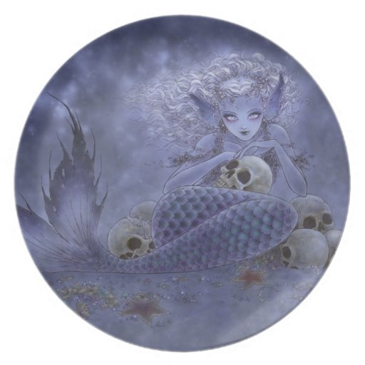 Dark Mermaid Plate