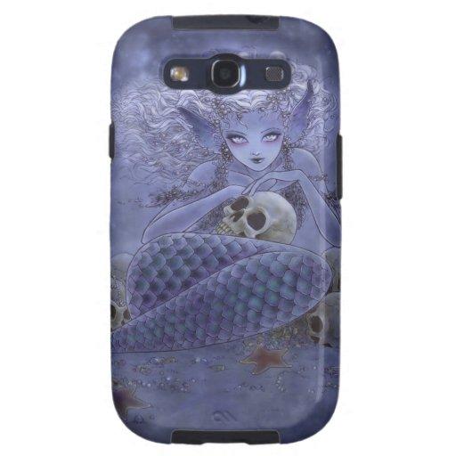 Dark Mermaid Samsung Galaxy Case Samsung Galaxy SIII Cases