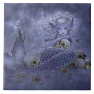 Dark Mermaid Tile