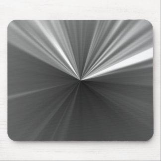 dark metal star mouse mat