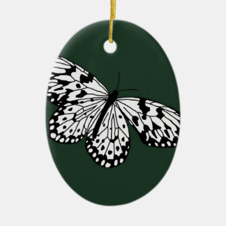 Dark Mosaic Beauty Christmas Ornament