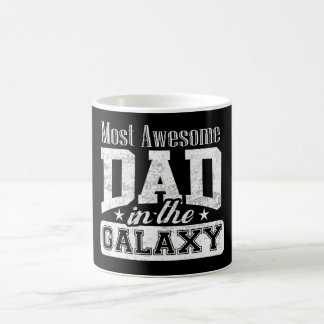 Dark Most Awesome Dad In The Galaxy Coffee Mug