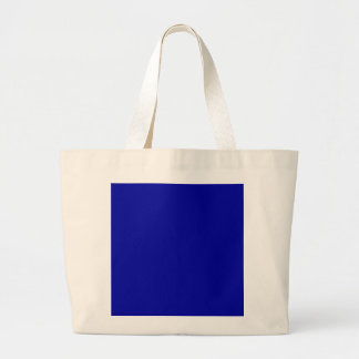 Dark Navy Blue Color Only Custom Design Products Tote Bag