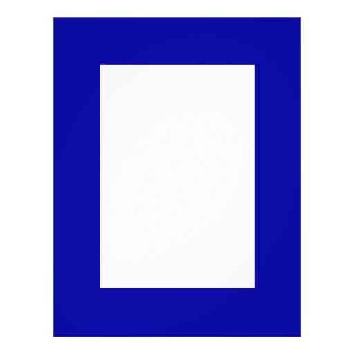 Dark Navy Blue Color Only Custom Design Products Flyer