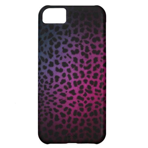 Dark Night Club Inspired Leopard Print iPhone Case iPhone 5C Cover