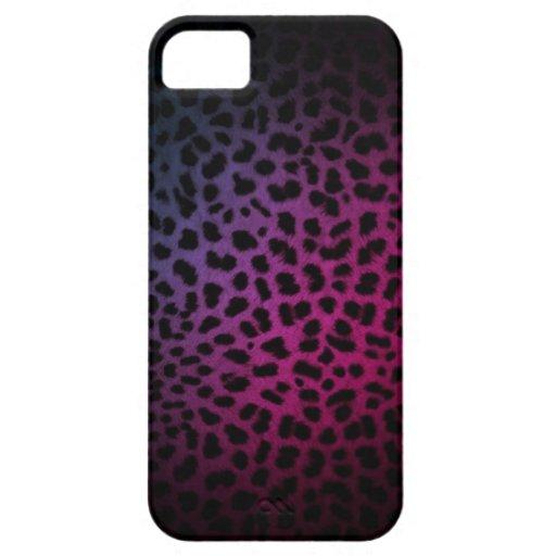 Dark Night Club Inspired Leopard Print iPhone Case iPhone 5 Case