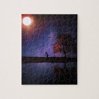 Dark Night Fantasy Jigsaw Puzzle
