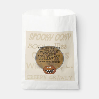 Dark Night Halloween Favor Bags Favour Bags