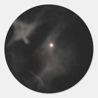 dark night sky sticker