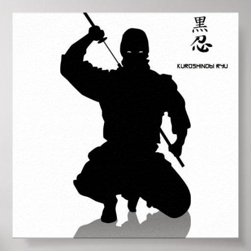 dark ninja, shhinnob poster