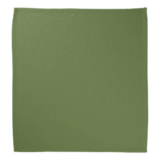 Dark Olive Green Bandana