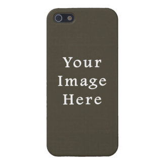 Dark Olive Green Green Color Trend Blank Template iPhone 5 Case
