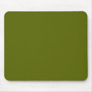 Dark Olive Green Mousepad